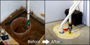 A New Frontier Basement Systems Sump Pump